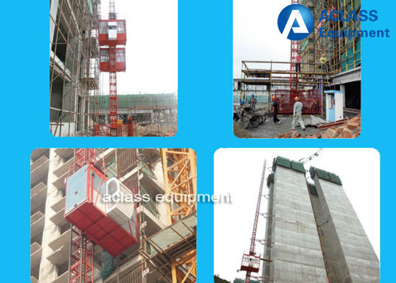 Chine ascenseur de grue de construction du support 1-4t/pignon fournisseur