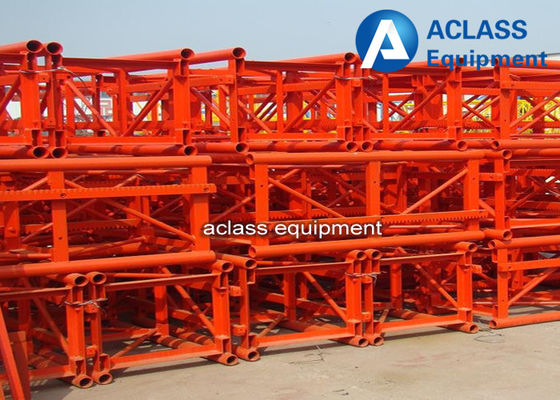 Chine Section 650*650*1508 millimètre de mât de support/pignon de grue de construction de bâtiments usine